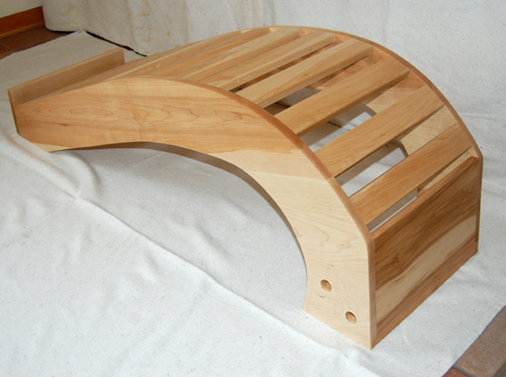 viparita dandasana bench