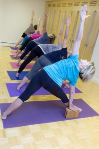 introduction to iyengar yoga at align  garden of yoga