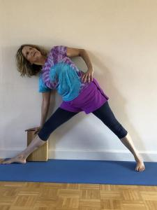 Donna Supported Trikonasana