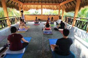 Yoga at Casa Naia