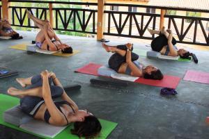 Yoga at Casa Naia
